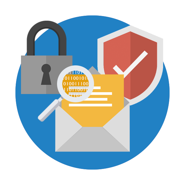 Webservio Email Security Icon