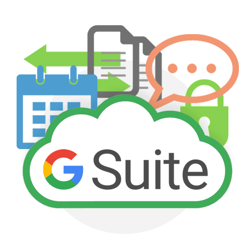 G Suite Cloud Email Hosting Graphic