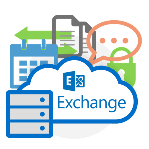 Hybrid Hosted Microsoft Exchange Email Hosting Graphic