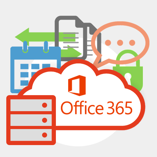 Hybrid Office 365 Business Email Hosting Graphic
